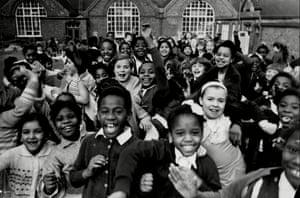 School children, Birmingham, November 1965.