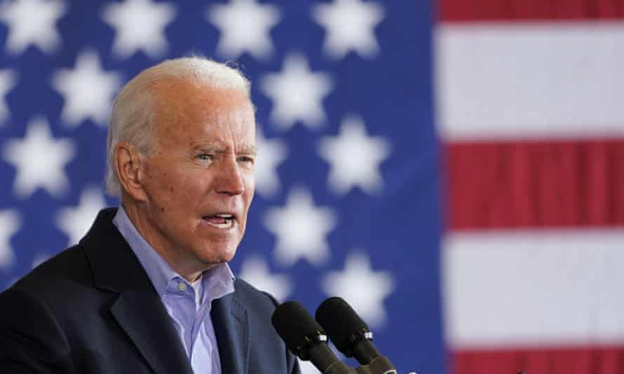 Biden in Cleveland on Monday. In Florida, largest of the handful of crucial swing states, Trump has cut Biden's lead to a single point, according to fivethirtyeight.com.
