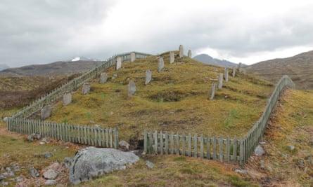 The Navvies' Graveyard, near Kinlochleven