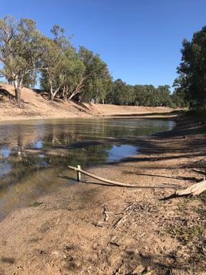 The Darling River in Louth
