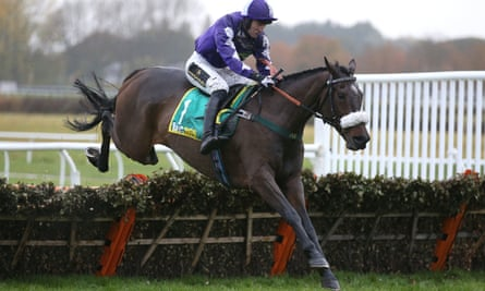 Lady Buttons on her way to victory last year. Her trainer, Phil Kirby, has been told to ensure work riders wear body protectors.