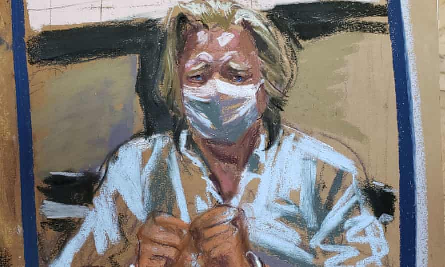 A sketch depicts Steve Bannon in court in New York, New York, on 20 August.