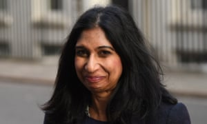 Suella Braverman's advice was sought for the internal market bill which became the subject of an explosive row between the EU and the UK.