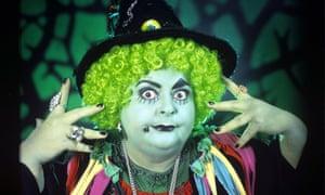 Nightmarish ... Carol Lee Scott as Grotbags.