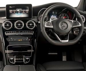 Mercedes E-class dashboard