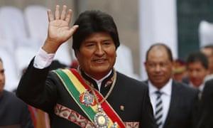 Evo Morales in 2016.