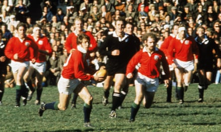 Barry John attacks New Zealand: 'he was so laid back, but he was a tough competitor who knew the game tactically. He played Fergie McCormick out of the game'.