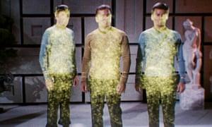 Beam me up, Scotty. The Star Trek crew