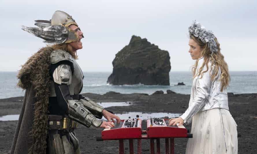 Will Ferrell and Rachel McAdams in Eurovision Song Contest: The Story of Fire Saga.
