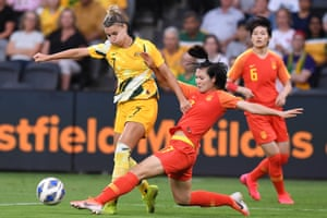Olympic qualifiers, Australia v China