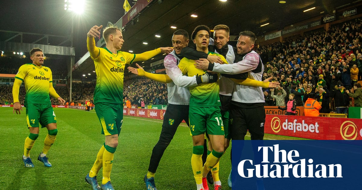 Jamal Lewiss precise strike gives Norwich win over Leicester