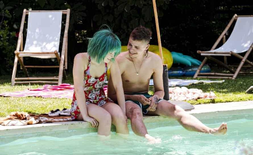 Milla (Eliza Scanlan) and Moses (Toby Wallace) in new Australian film Babyteeth.