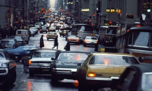 a New York street in 1971