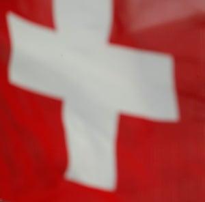 Switzerland's national flag.