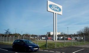 Ford engine plant in Bridgend.