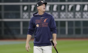 Houston Astros manager AJ Hinch has been suspended for a year by Major League Baseball