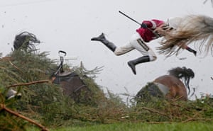 Carnage at the Chair, Grand National, Aintree 9 April 2016