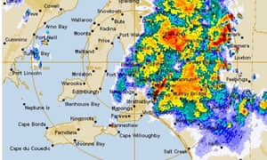Tornado hits east of Adelaide as severe storms sweep across South