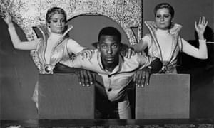 Pelé in 1969, taking time out from scoring to star in the title role of The Adventures of Plinio Pompeu. Obviously.