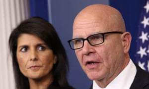 Nikki Haley And H.R. McMaster.