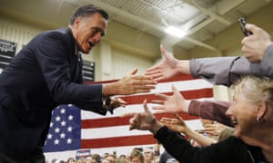 Mitt Romney in 2016. He has called Trump a 'phony' and a 'fraud'.