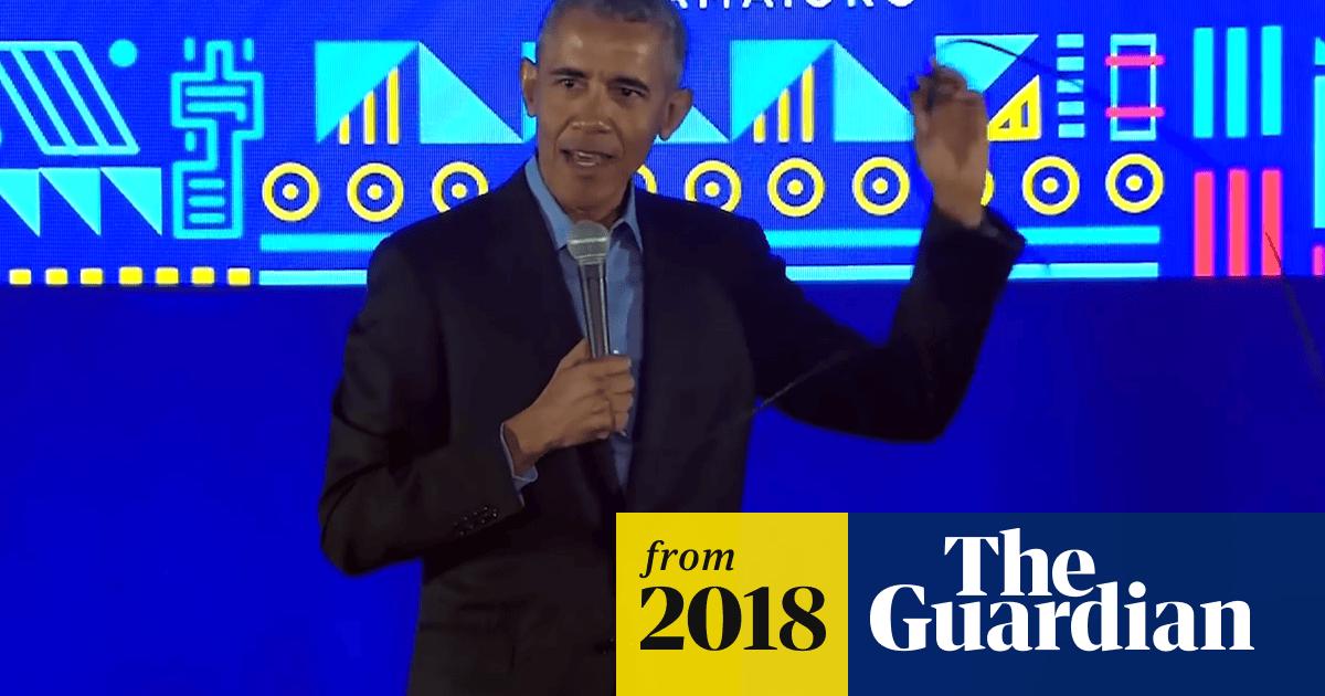 Men have been getting on my nerves lately': Barack Obama