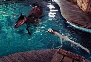 Steven Klein ‐ Horse Pool Windsor, Connecticut, June 2005