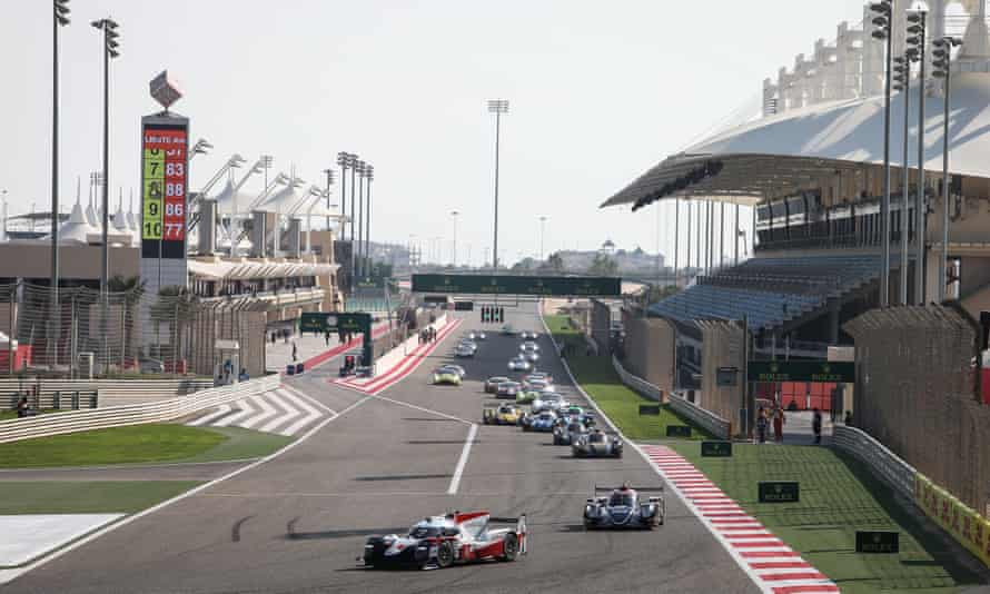 The Bahrain International Circuit in Sakhir will host two grands prix, with the first on Sunday.