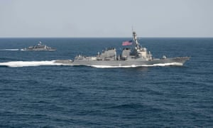 USS Lassen sailed within 12 nautical miles of artificial islands built by China in the South China Sea, says Beijing.