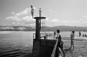 Several images here are from her 2002-06 series Black Sea: Between Chronicle and Fiction. In a review of her new exhibition, the Guardian's Sean O'Hagan writes that the title of the series 'goes some way towards evoking the atmosphere of her work and her approach – a kind of imaginative social documentary that is rooted in place, yet elusive'