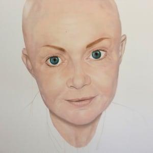 Gail Porter Andrea Tyrimos Bipolar Picasso portraits