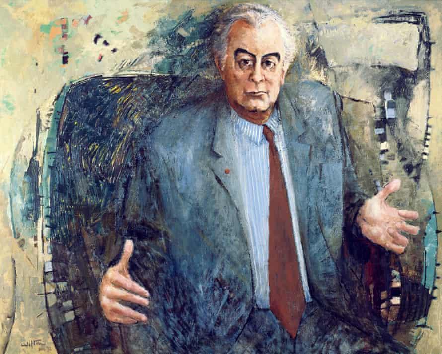 Gough Whitlam's 1972 portrait by Clifton Pugh