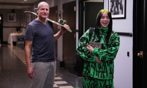 Woody Harrelson and musical guest Billie Eilish during promos.