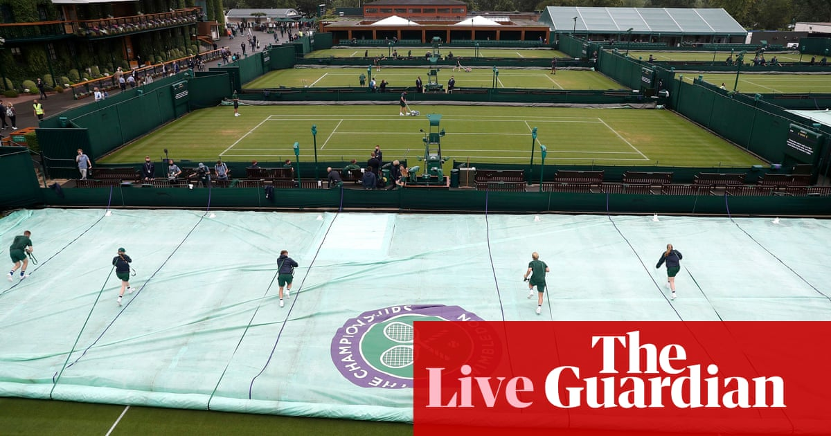 Wimbledon 2021: Djokovic, Murray and Kenin in action on day one – live!