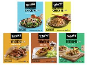 BBQ-friendly … Tofurkey