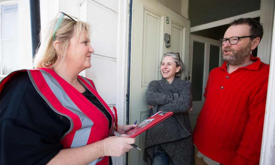 Karen Constantine speaks to South Thanet residents