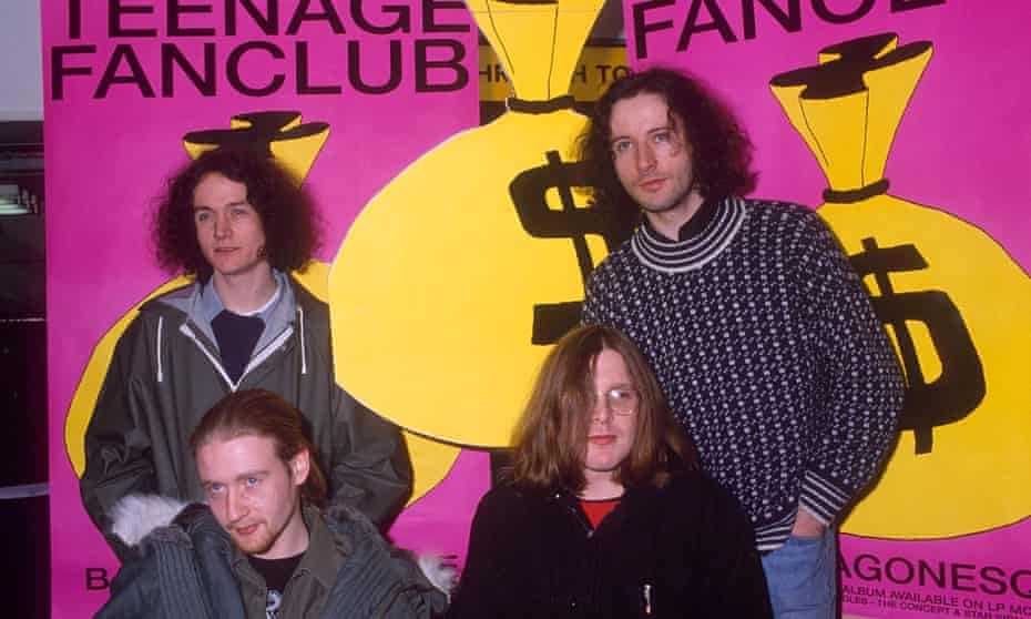 Teenage Fanclub in 1992.