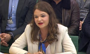 Brittany Kaiser speaks to parliament's digital, culture media and sport committee
