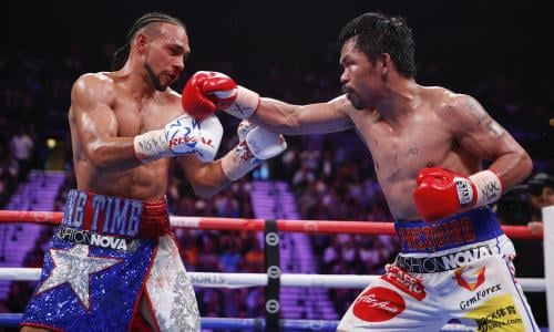 Manny Pacquiao v Keith Thurman: WBA welterweight