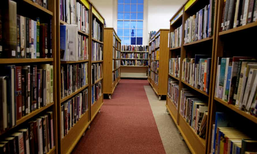 Woolton library in Liverpool, which is now closed.