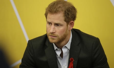 The statement said that Prince Harry was 'deeply disappointed' that he was not able to protect Markle.