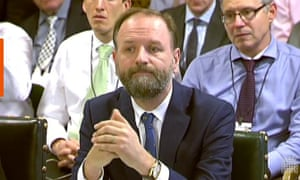 NHS England chief Simon Stevens addresses MPs on Wednesday.