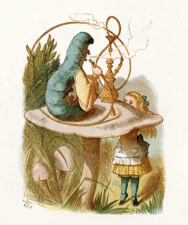 Illustration for Alice in Wonderland by Sir John Tenniel, 1871.
