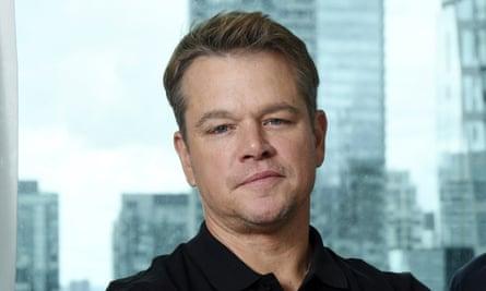 Matt Damon in 2019 while promoting Ford v Ferrari.