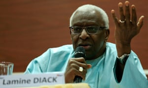 Lamine Diack was president of the IAAF from 1999 to 2015.