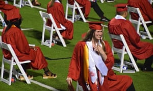 Paxton Smith at her high school graduation in Dallas in June.