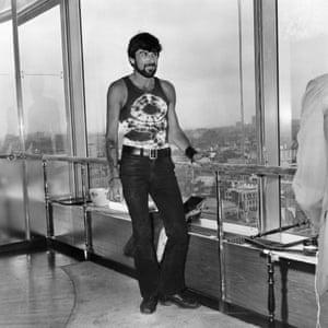 Thom Gunn in 1970.