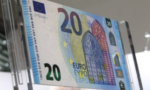 New 20 euro banknote