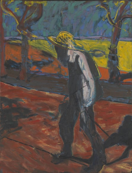 Study for Portrait of Van Gogh IV by Francis Bacon, 1957.