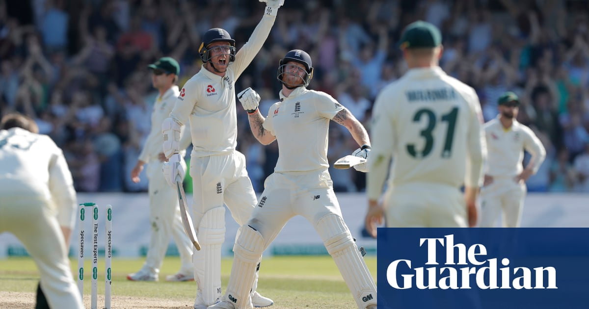 Ashes 2019: stellar images from an unforgettable summer